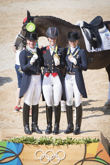 Dressage Individual medalists copy